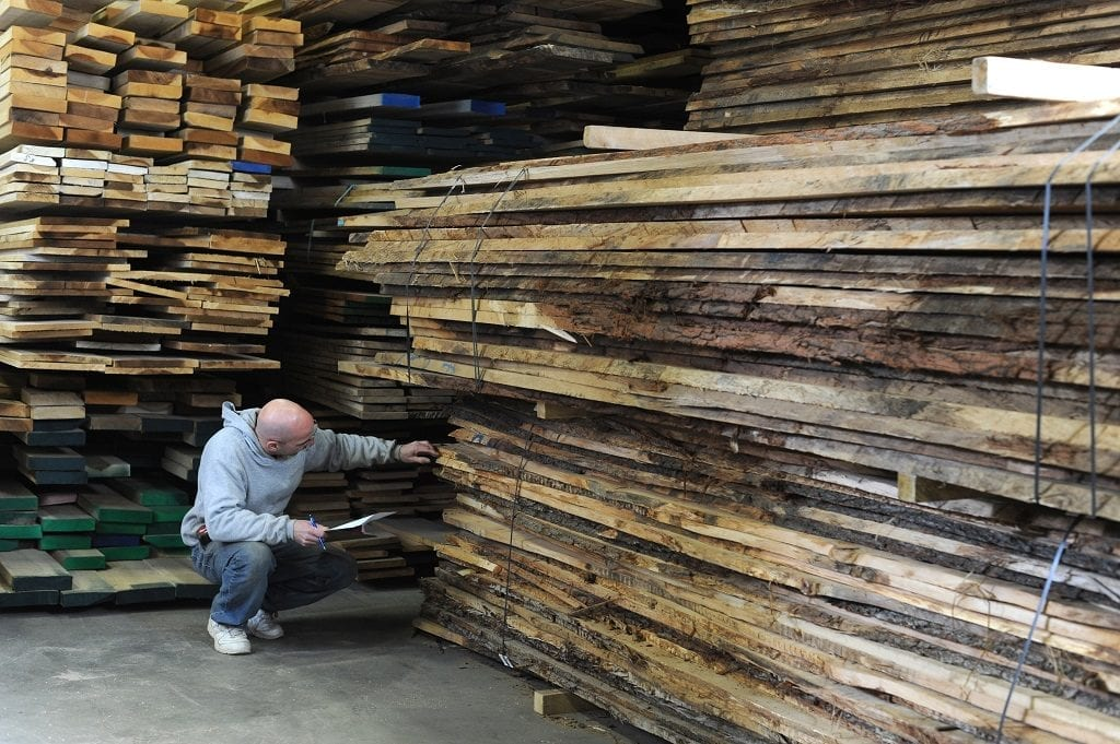 Picking the right type of wood