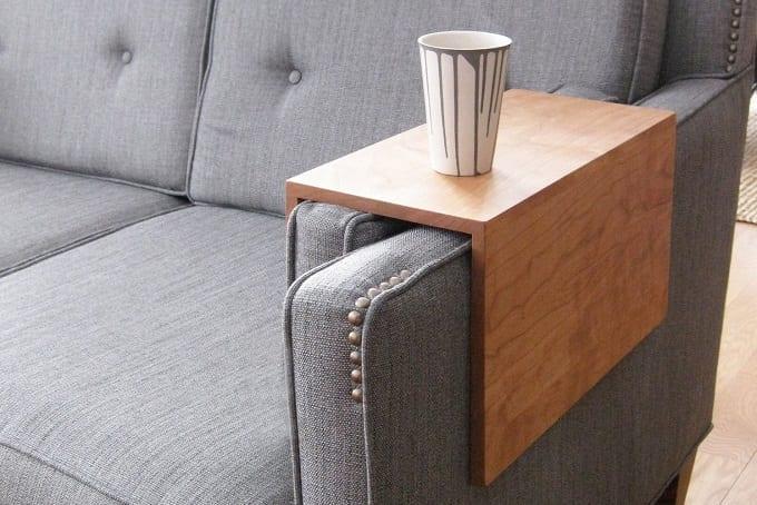 DIY Armchair Cup Holder