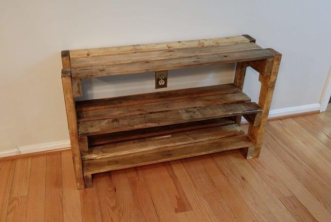 Pallet Floor Shelf