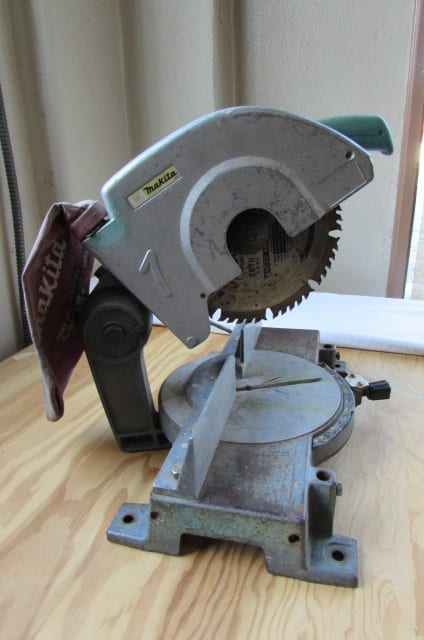 Old Makita miter saw model