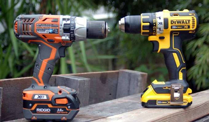 Two Cordless Power Drills