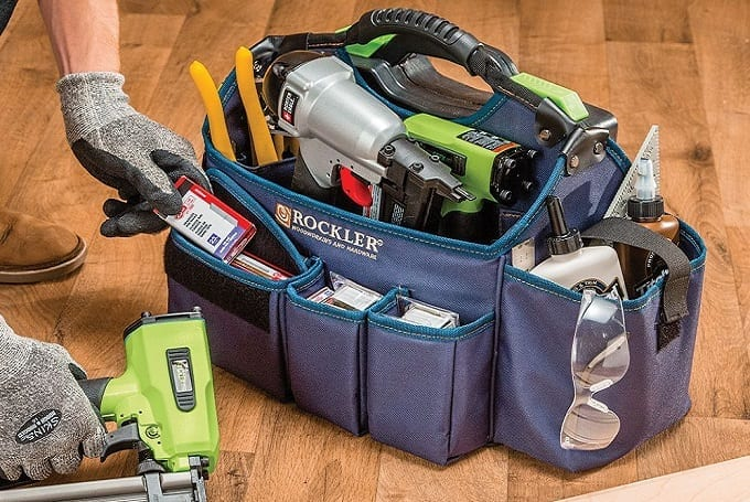 Woodworking Tools In Bag