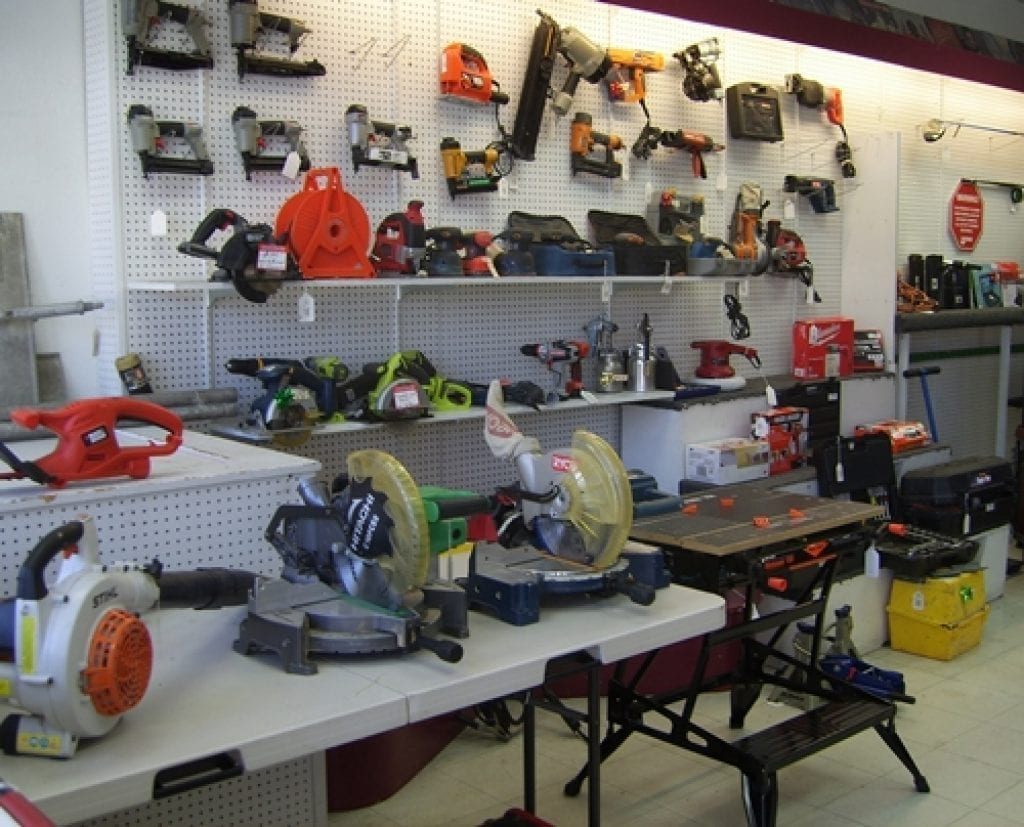 Local used tool shop