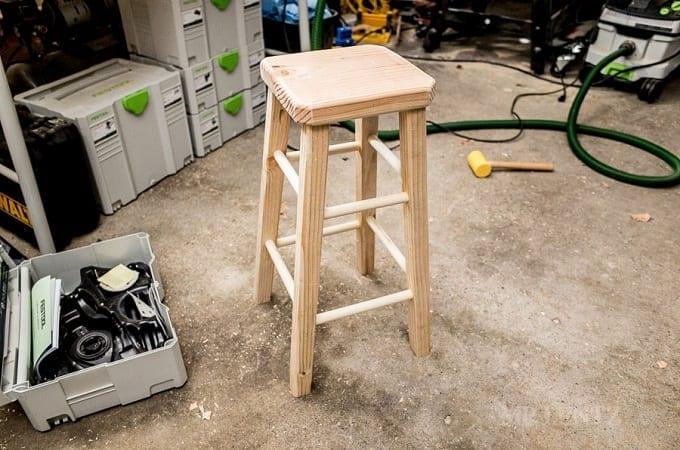 DIY Wooden Stool