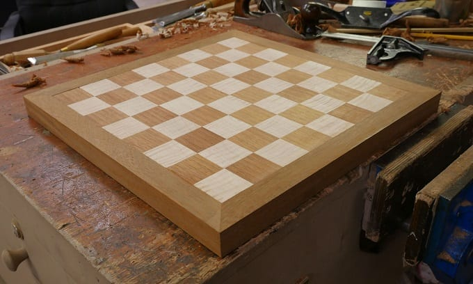 DIY Wooden Chess Board