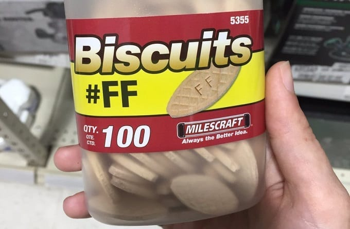 Holding Box Of FF Joint Biscuits