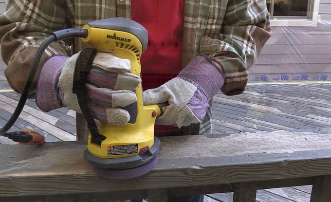 Removing Paint From Wood With Sander