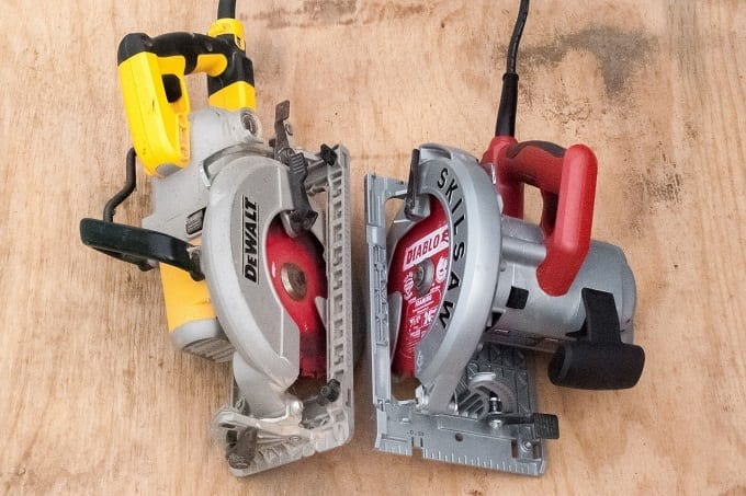 Big And Small Circular Saws