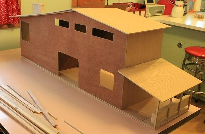 DIY Wooden Dollhouse